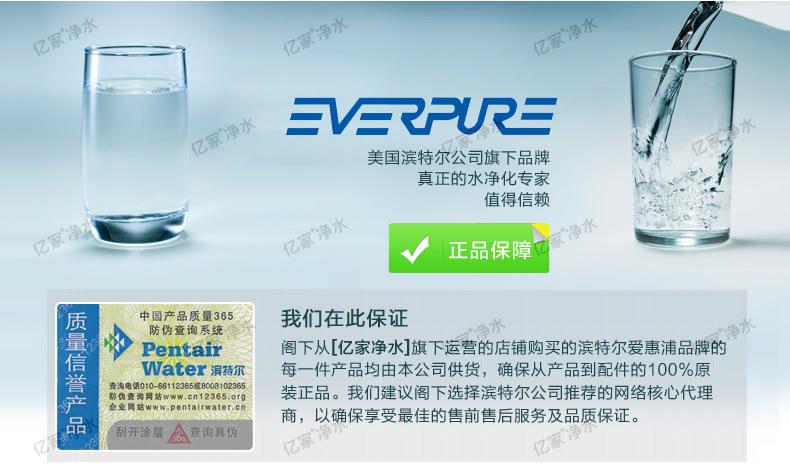 爱惠浦EF 900P型净水器 2014款