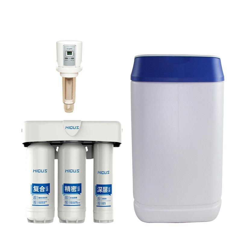 凯优FC201-EASF前置过滤器+软水机SC623+纯水机PC150全屋净水 净水器(适合200平米左右全屋北方使用)