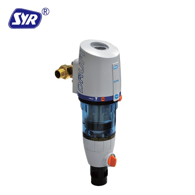 汉斯希尔DrufiPlus DFR 豪华稳压型反冲洗前置过滤器(别墅专用)