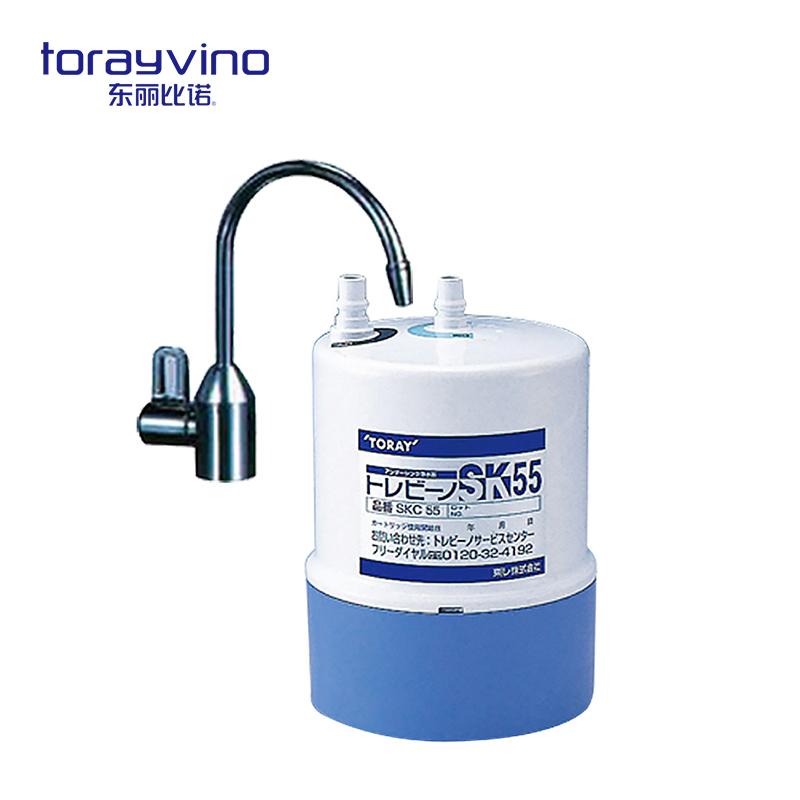 日本东丽比诺Torayvino SK55-SH2厨下型大流量净水器净