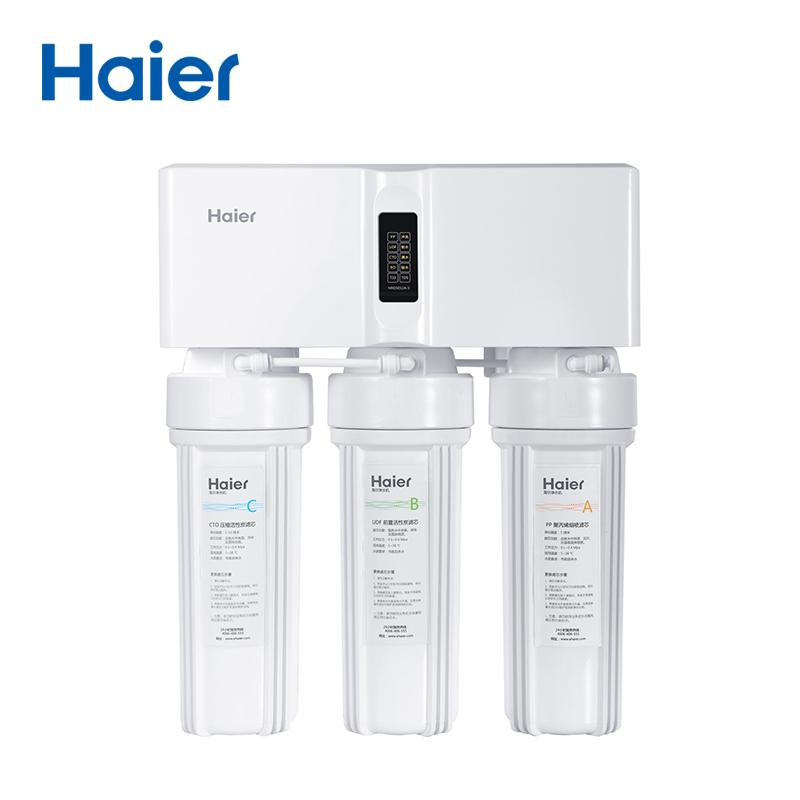海尔Haier牌HRO5012A-5高端智能电子屏反渗透净水机