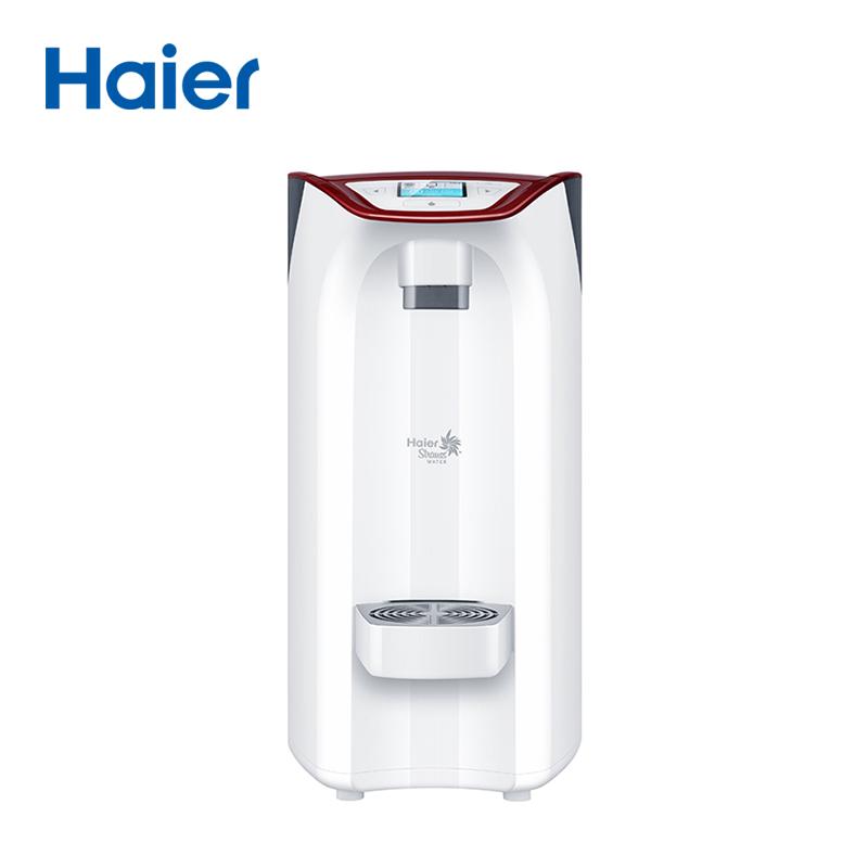 海尔Haier牌HSW-V3HR型温热型智饮机-酒红色净水器过滤器净水机